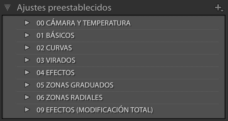 Borrando Presets y Perfiles indeseados en Lightroom