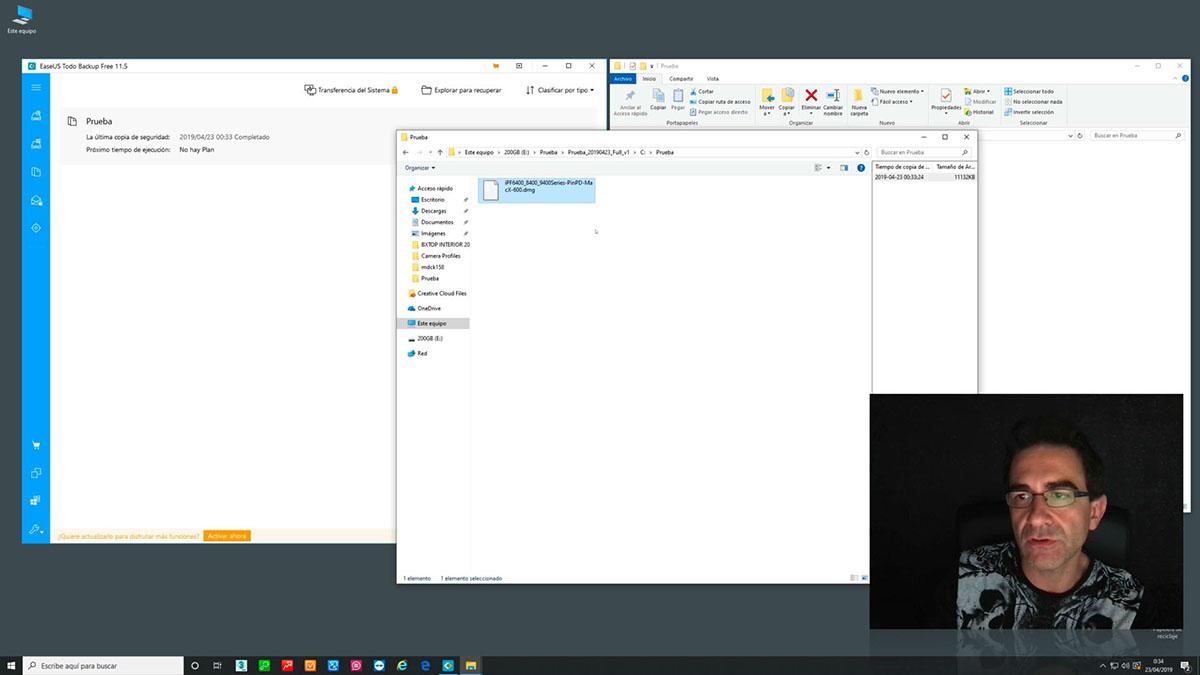 Copias de Seguridad: EaseUS Todo Backup (Windows/MacOS)