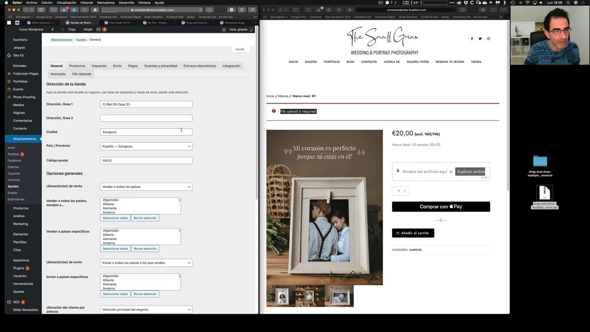 Vendiendo productos personalizados con imágenes del cliente