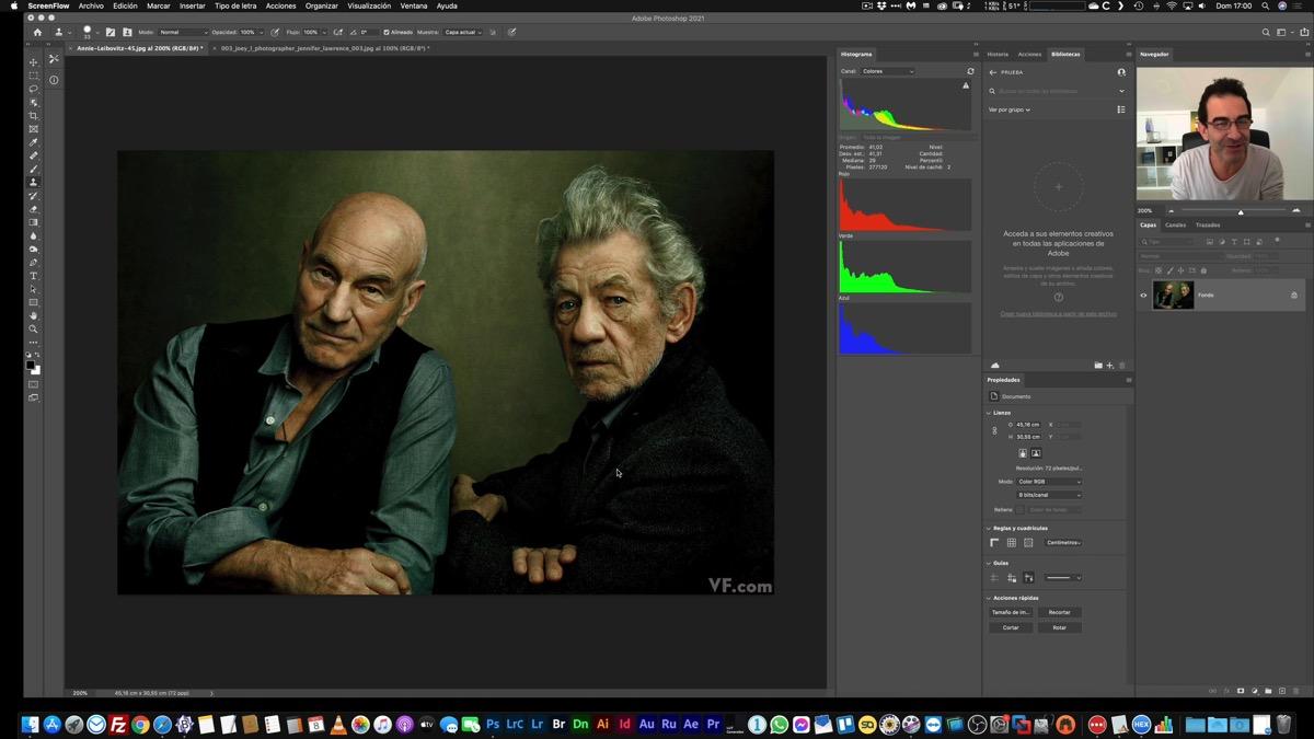 Copiando el estilo de color de cualquier fotografía